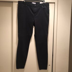 Loft Navy blue leggings new with tags size 32/14